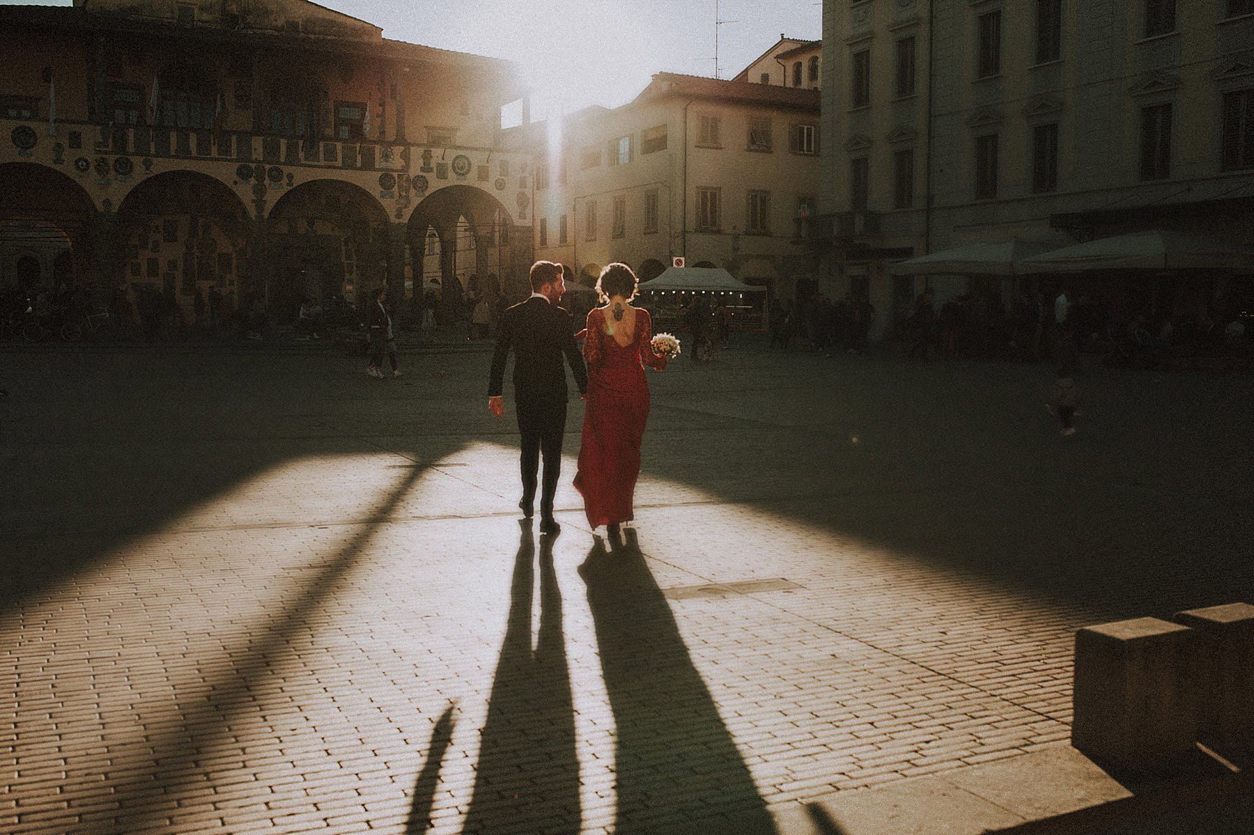 matrimonio in piazza a San Giovanni Valdarno
