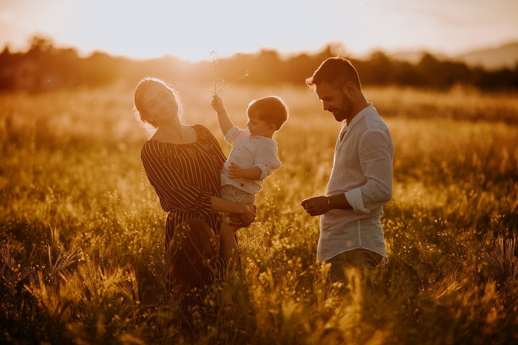 family photography sunset