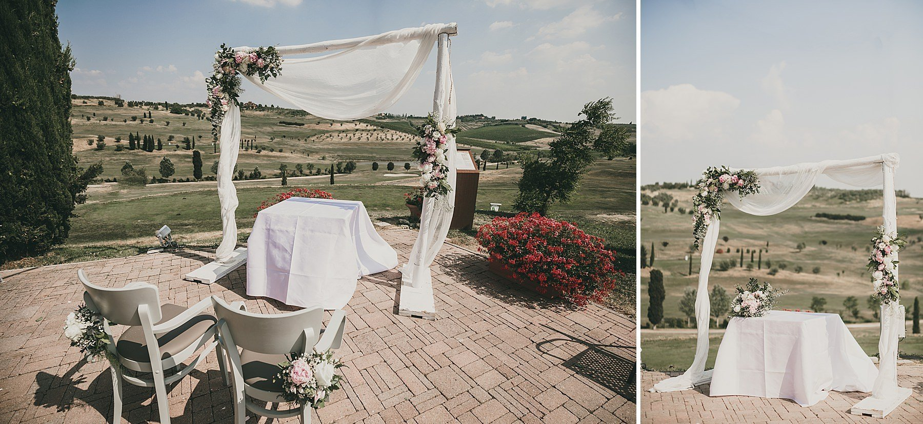 wedding in tuscany bellosguardo vinci