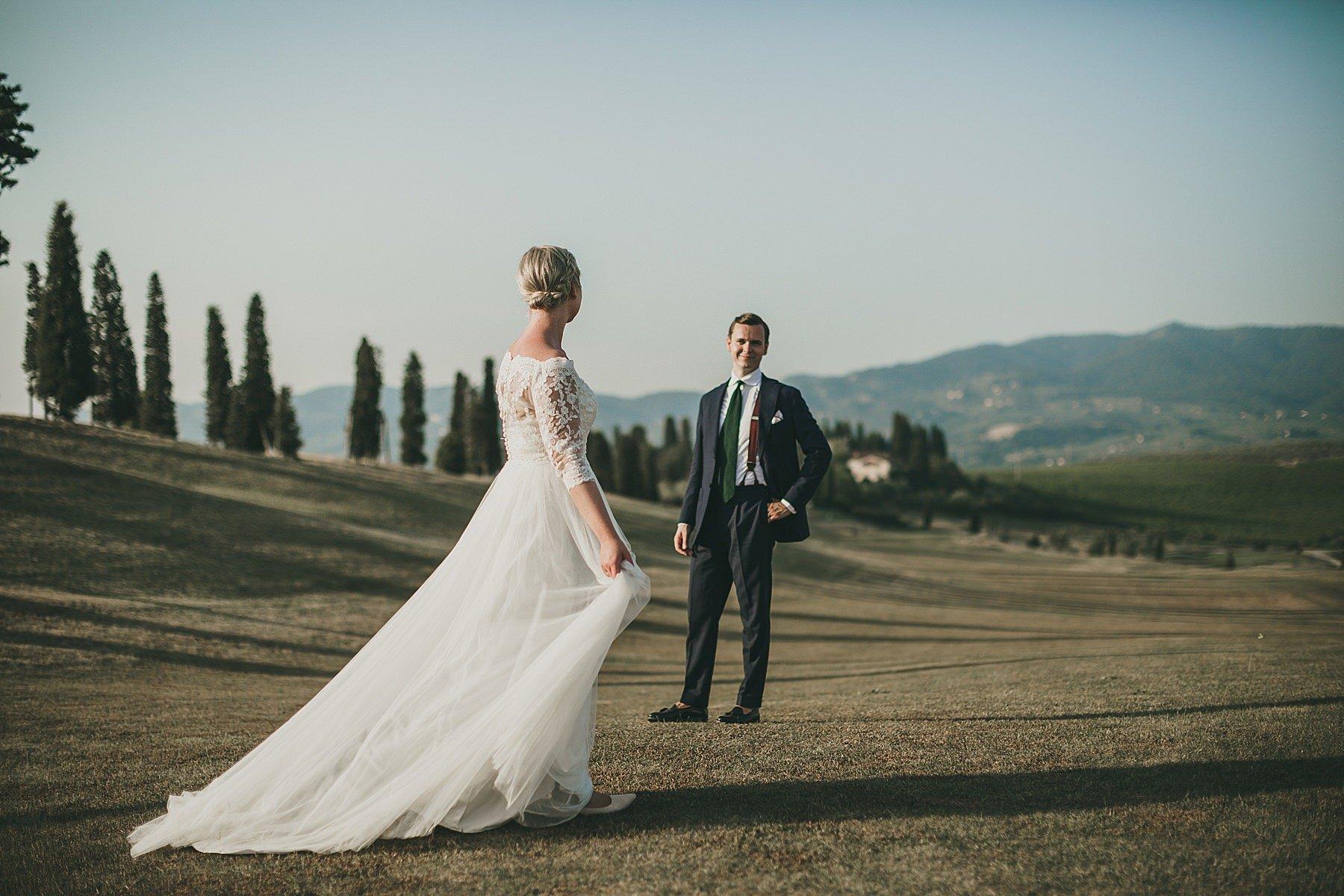 wedding in tuscany bellosguardo vinci