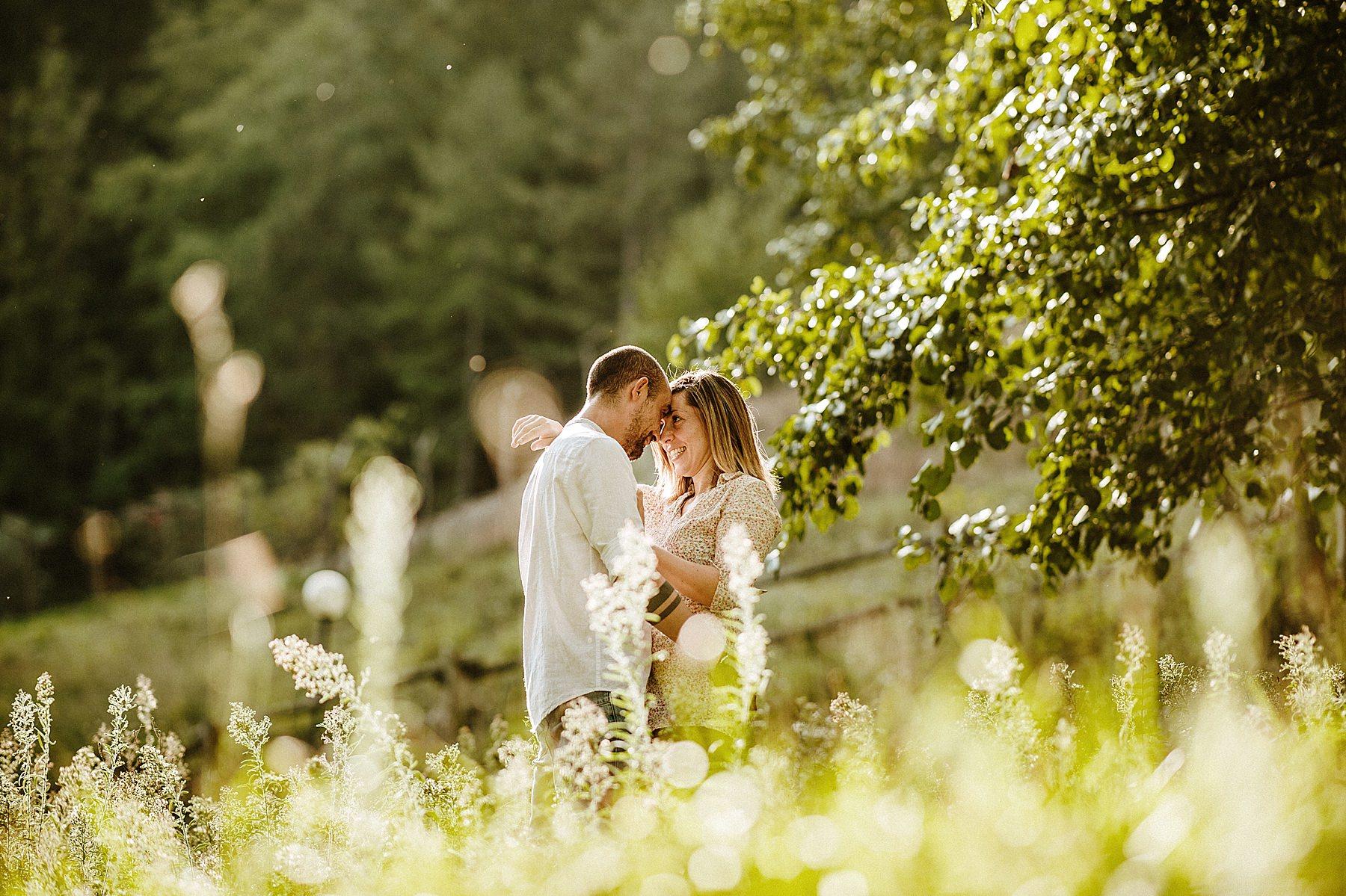 fotografia di fidanzamento in mugello