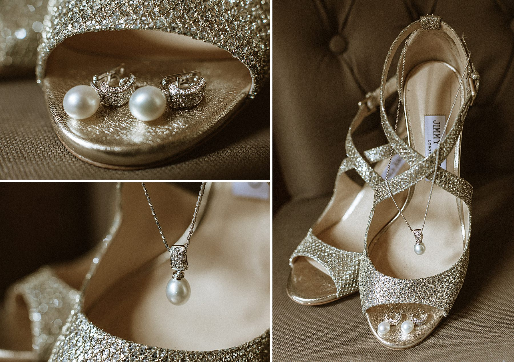 bride shoes jimmy choo London