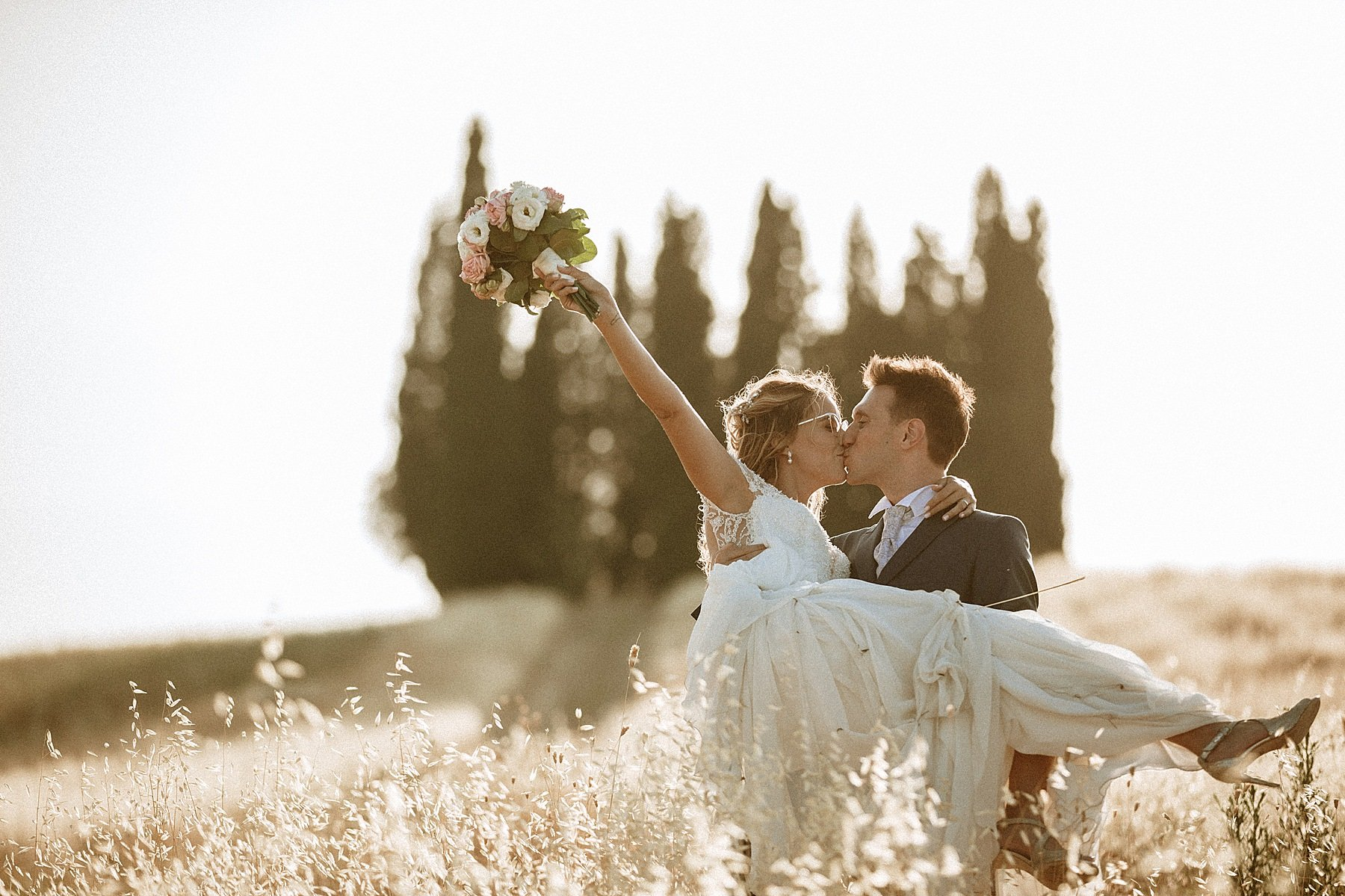 wedding in tuscany vinci villa dianella