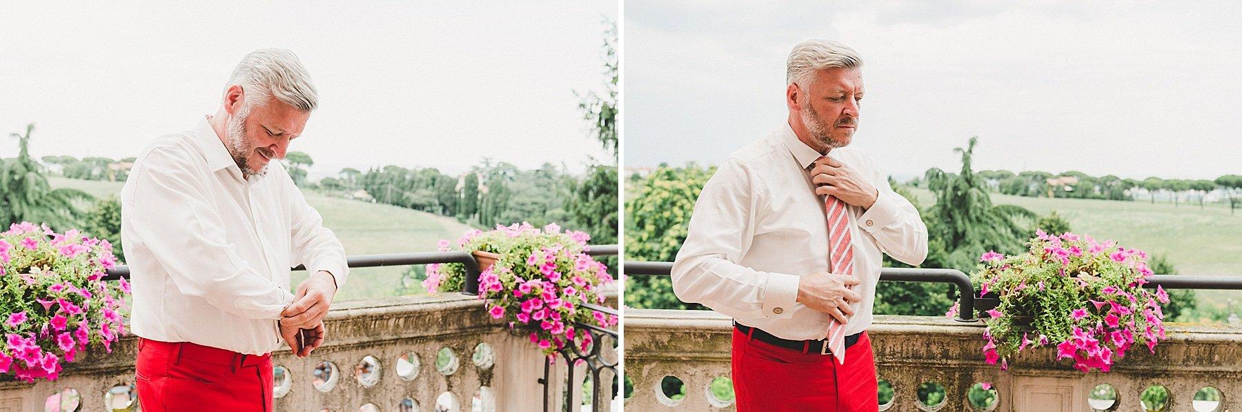 matrimonio a dozza preparazione sposo