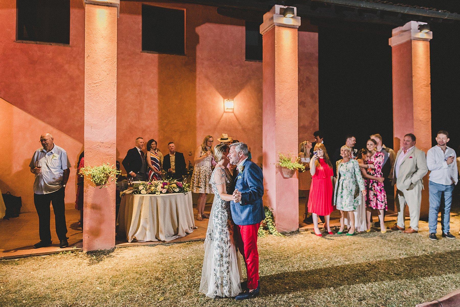matrimonio a dozza imola primo ballo sposi