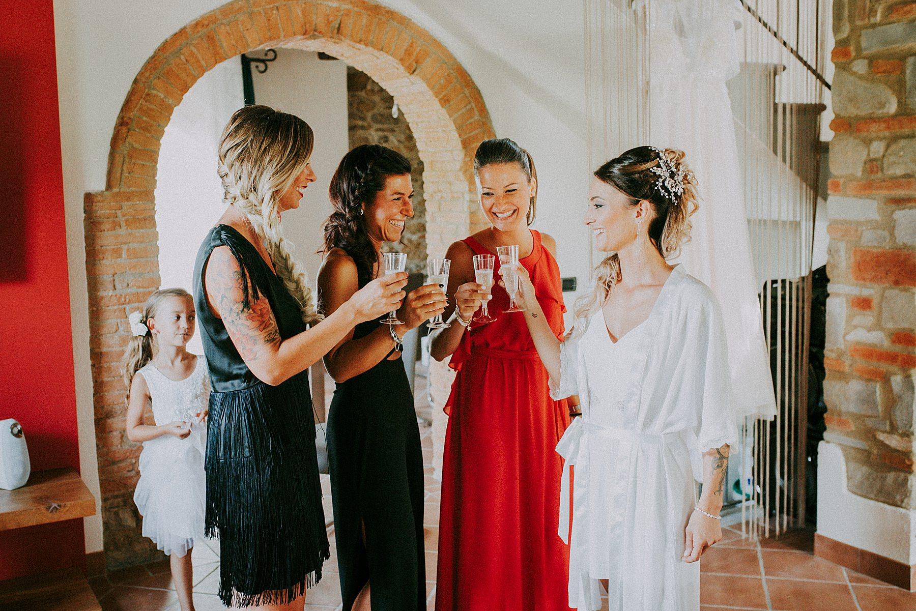 Damigelle sposa Mugello