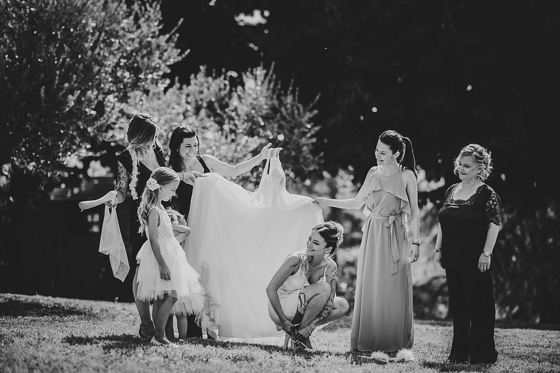 matrimonio mugello preparazione sposa