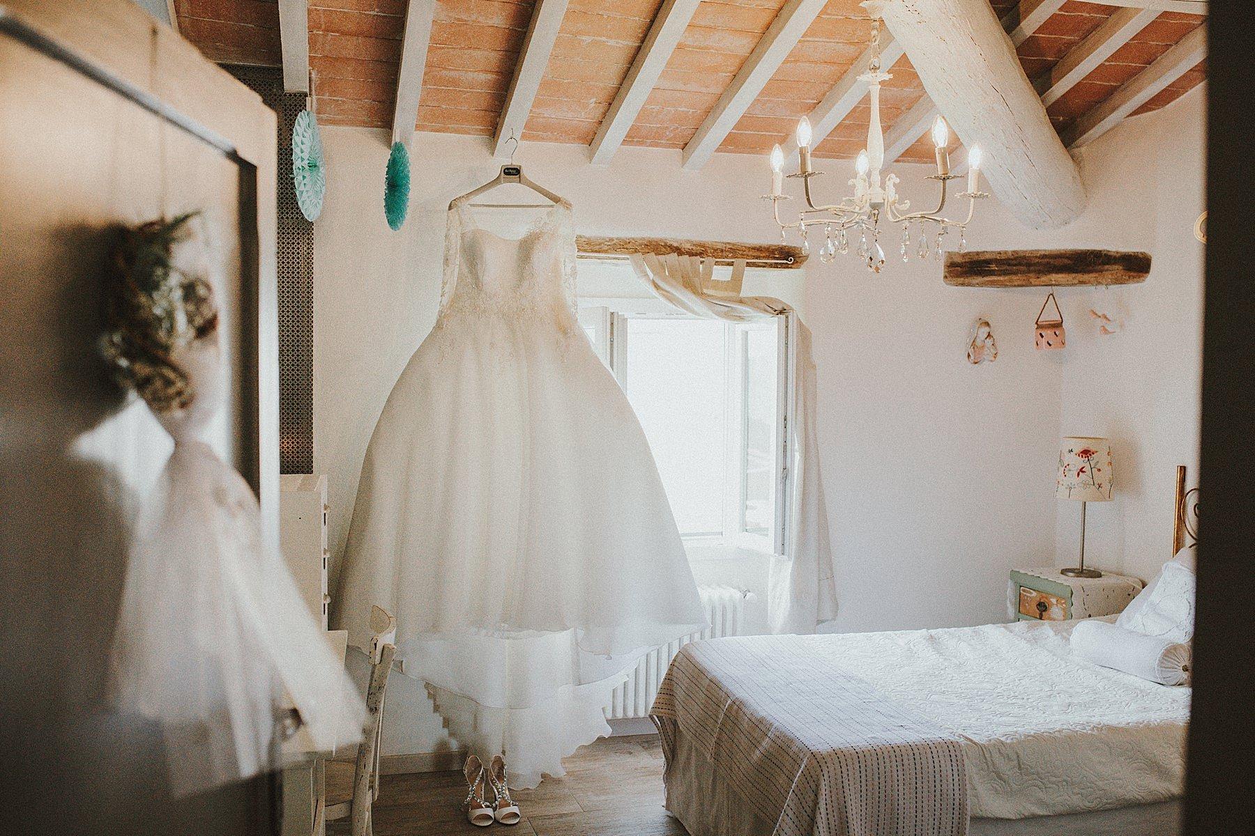 abito sposa camera vintage
