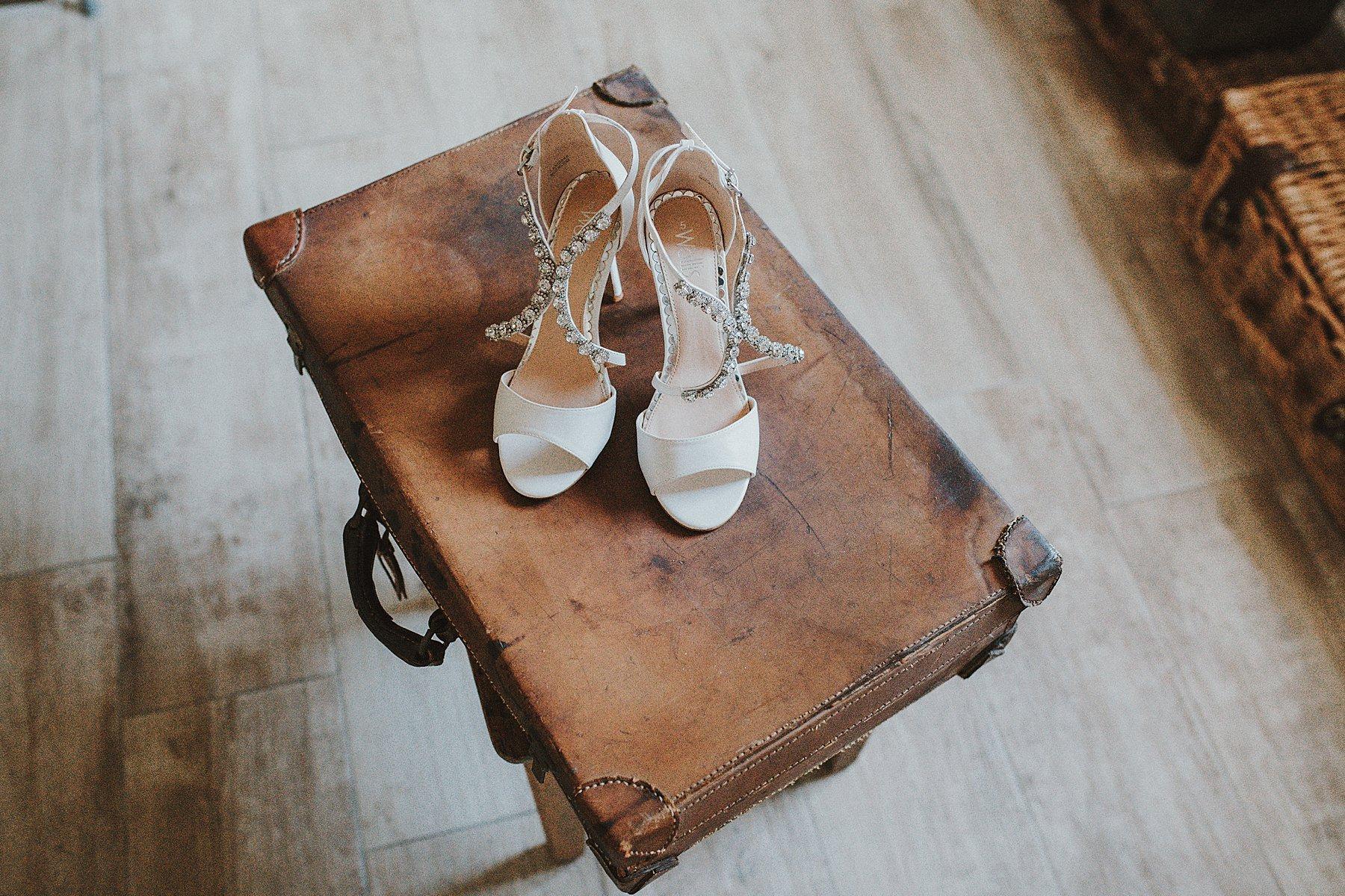 scarpe sposa preparazione