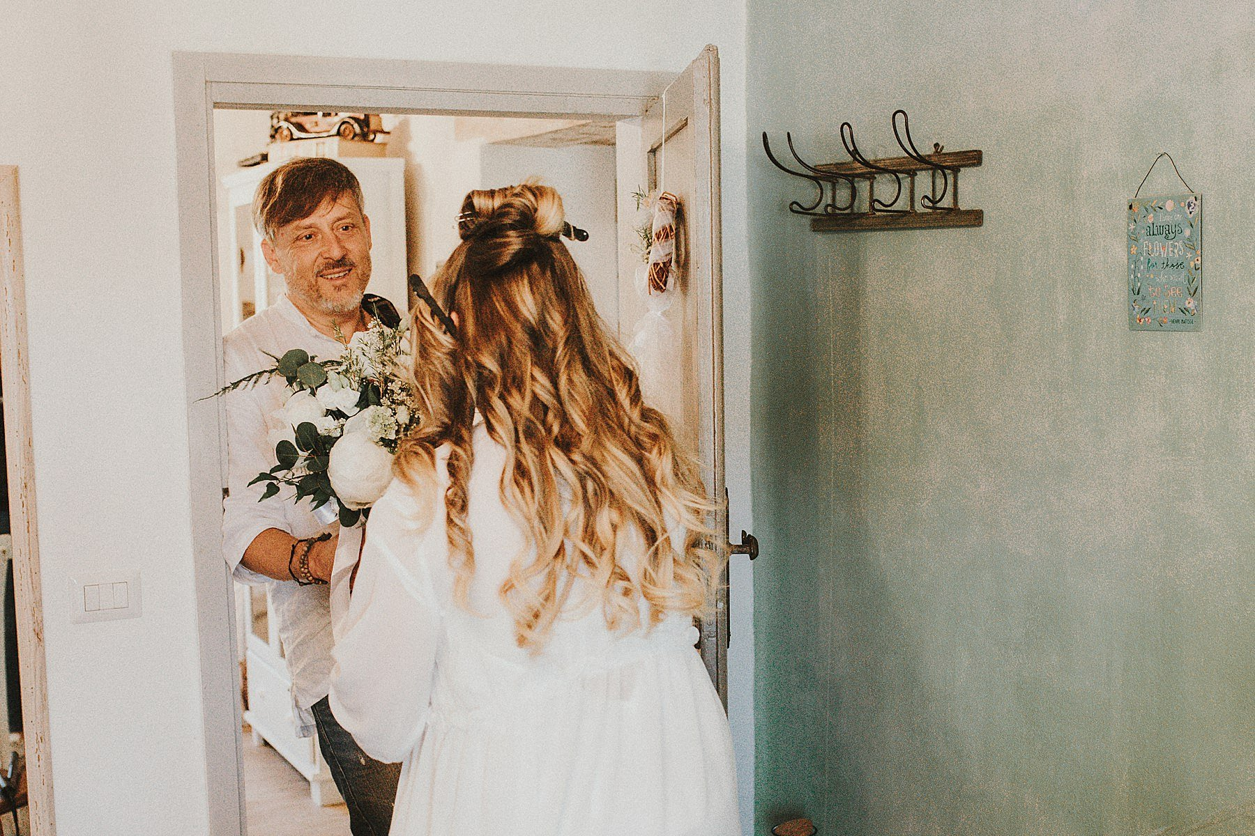 babbo sposa preparazione