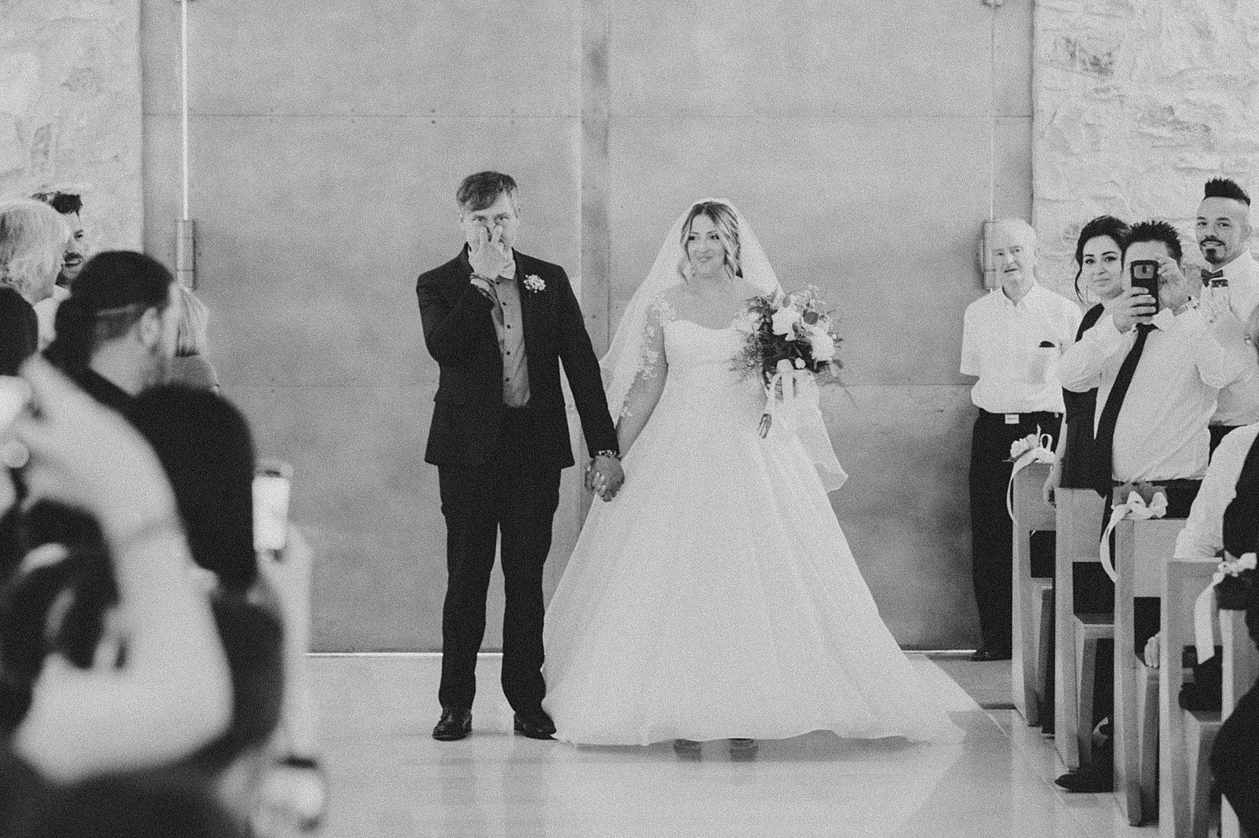 entrata sposa con babbo