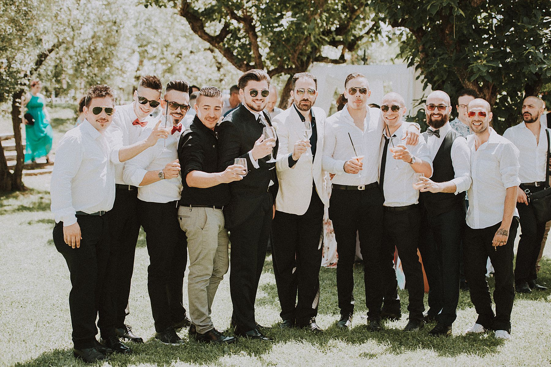 foto amici dello sposo