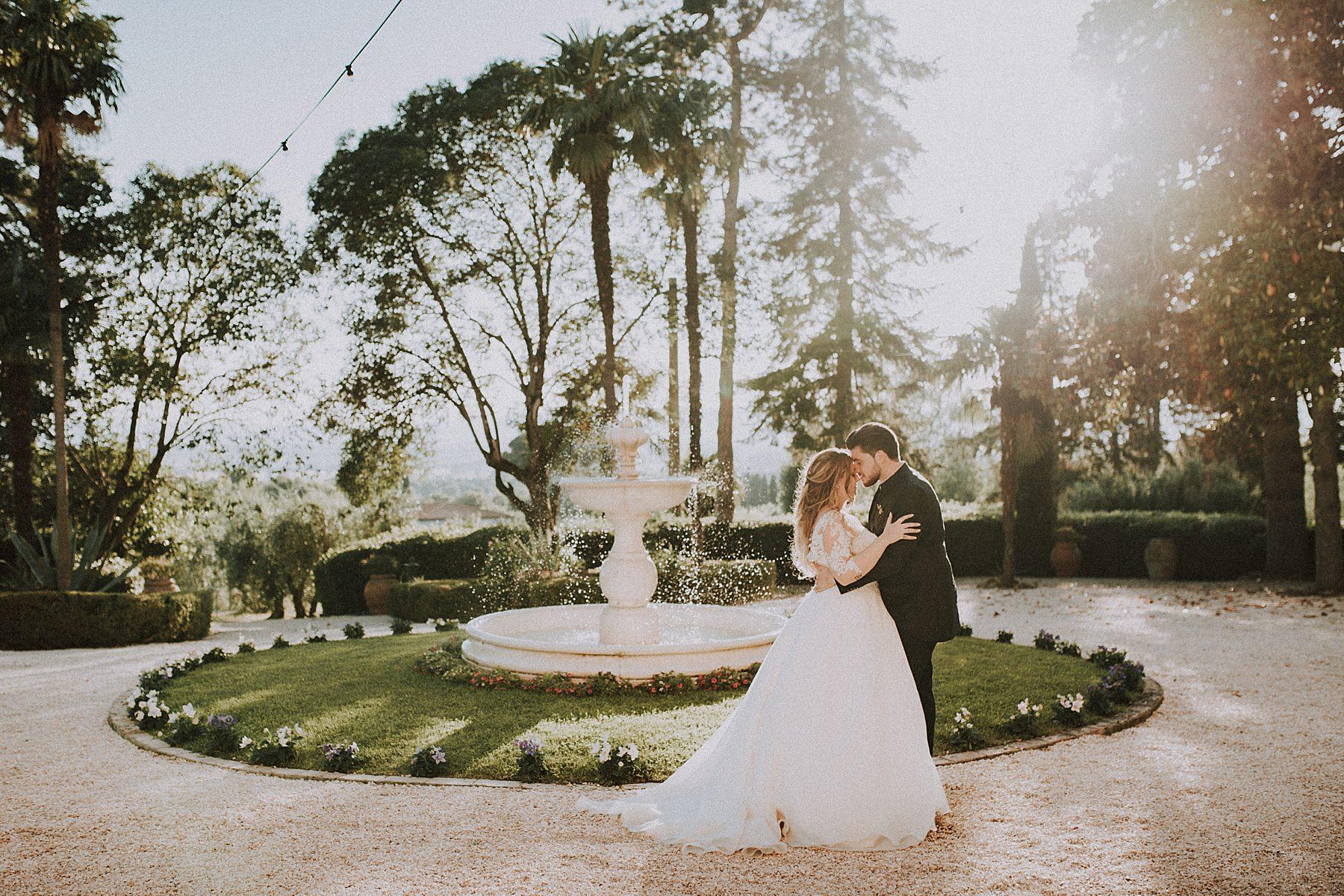 matrimonio romantico a villa burali