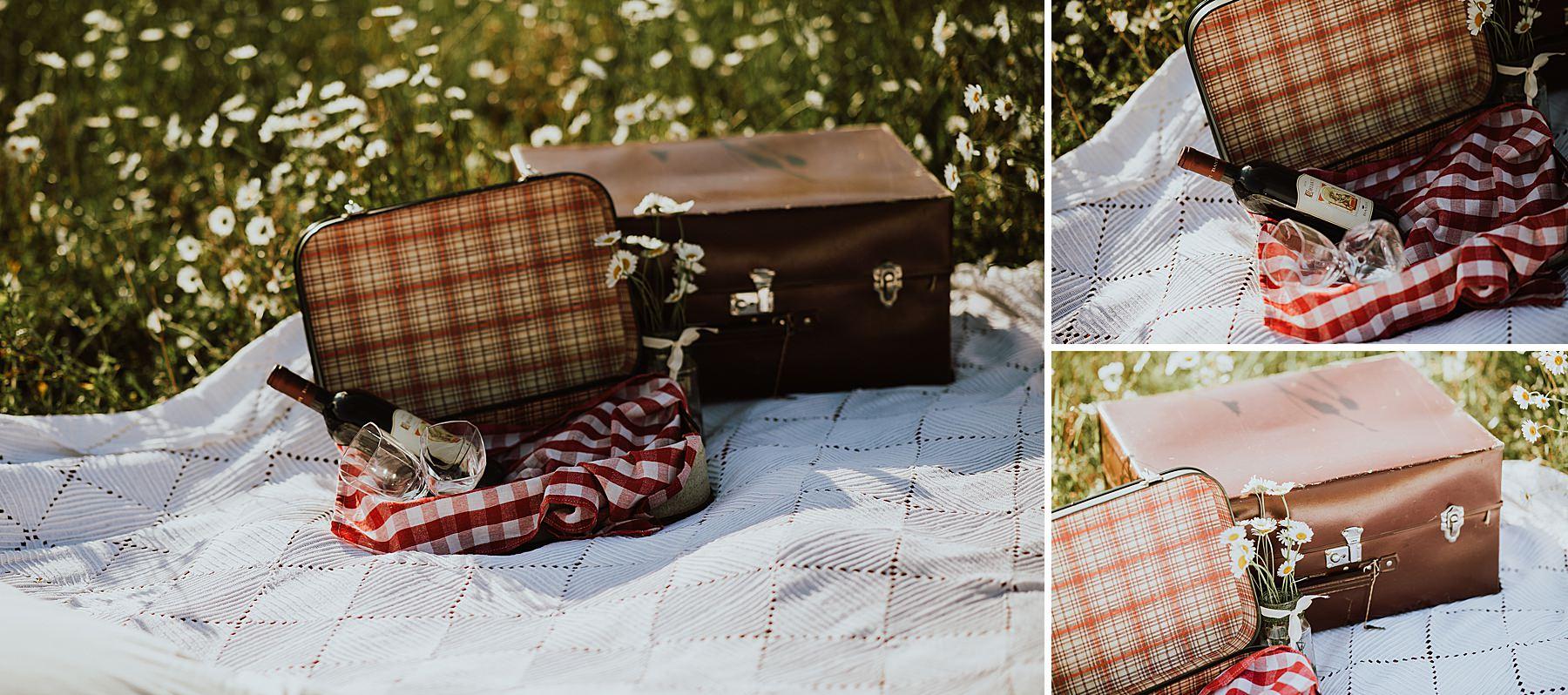 b servizio fotografico con picnic