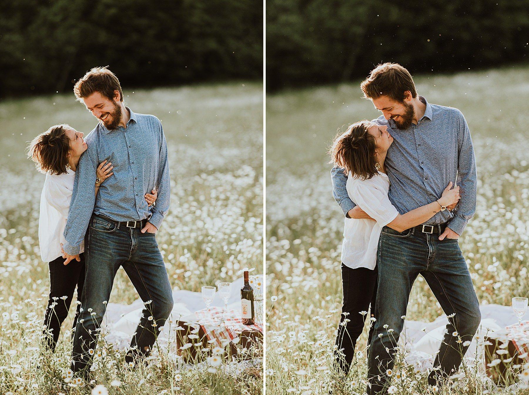 shooting fotografico di coppia romantico naturale firenze