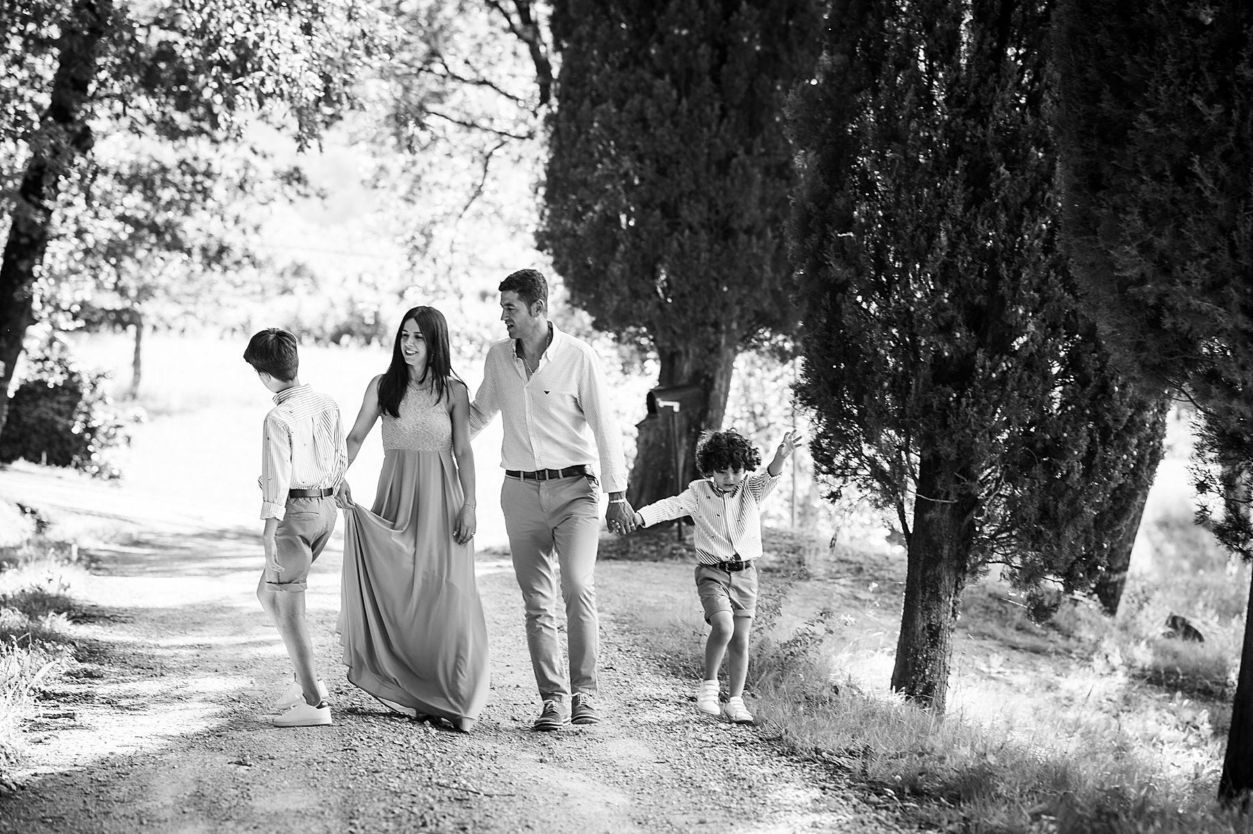 servizio fotografico di famiglia nel mugello