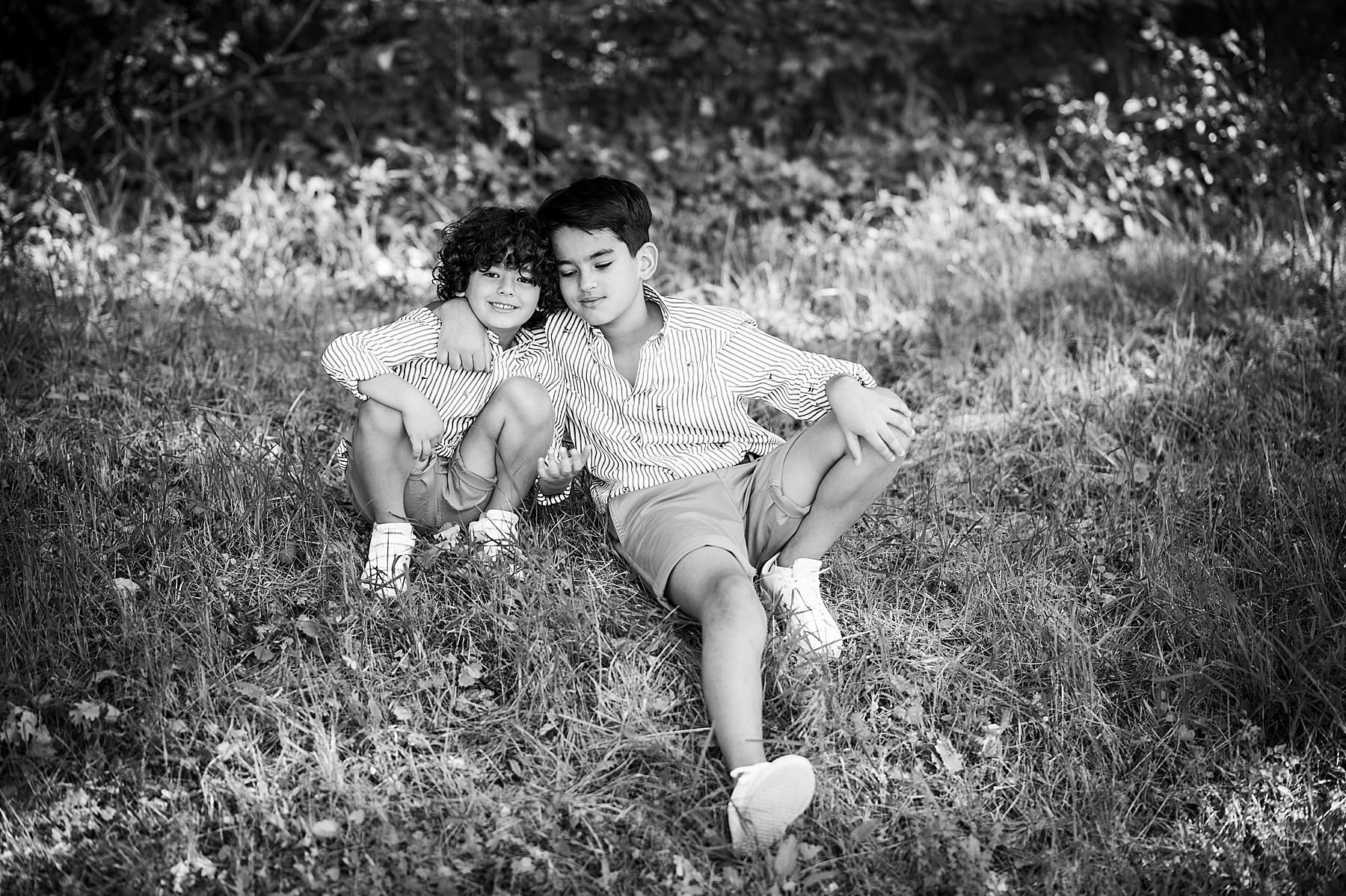 servizio fotografico tra fratelli