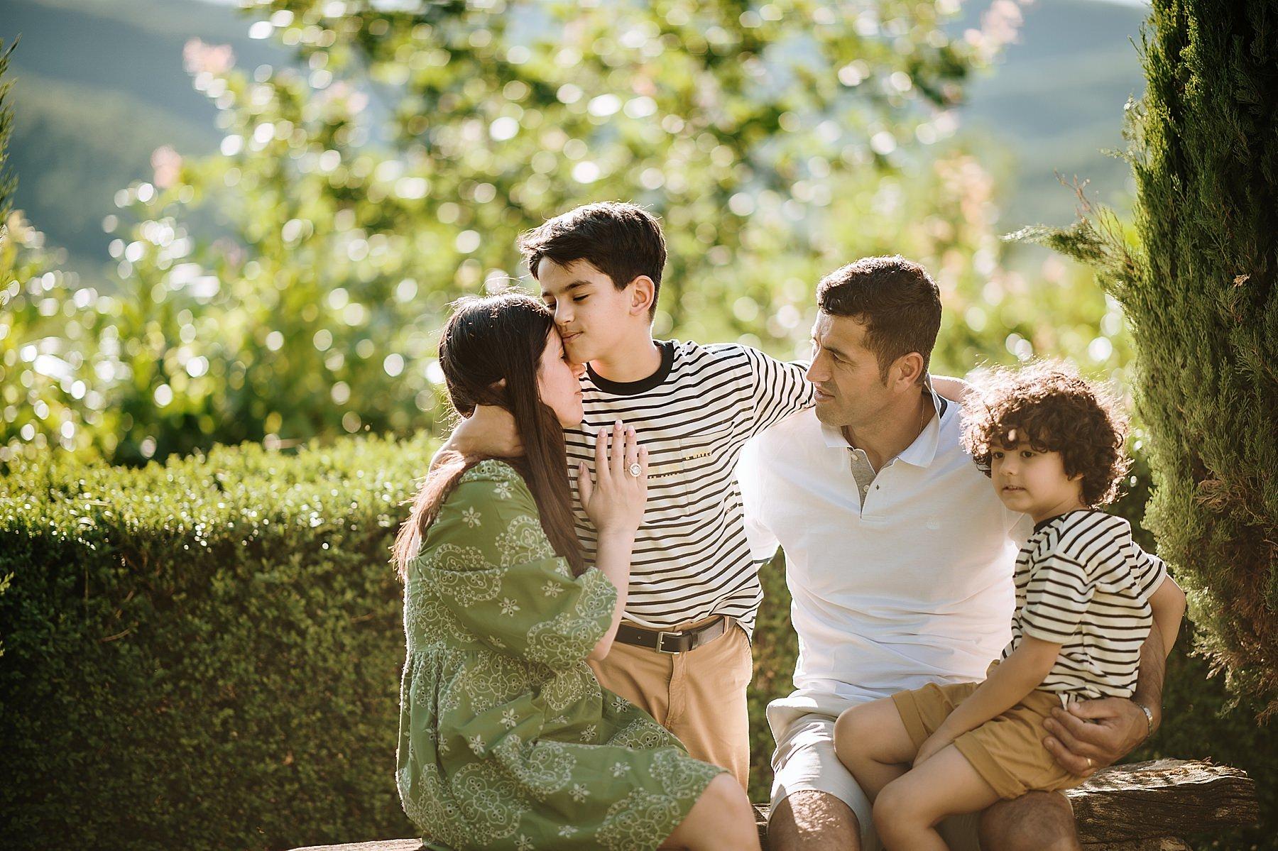 servizio fotografico di famiglia a san cresci