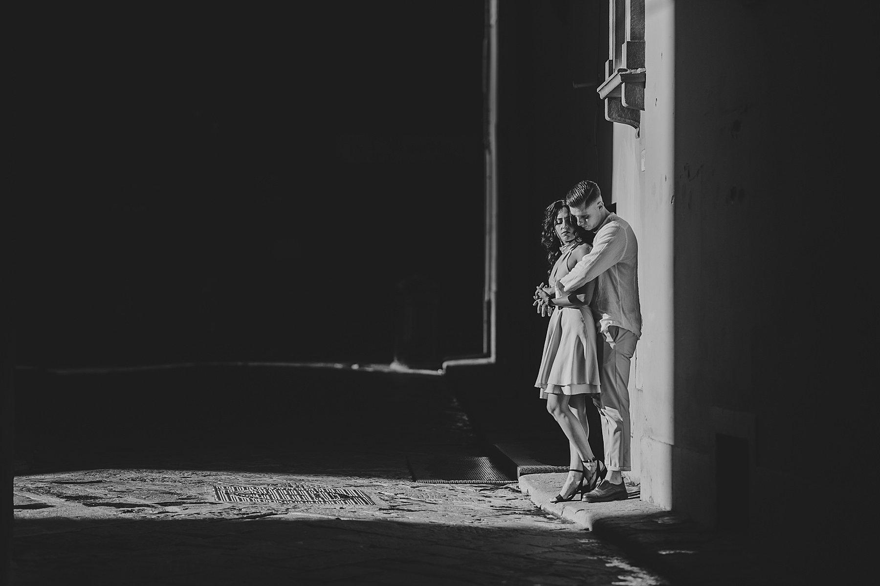 foto di coppia firenze per le vie del centro