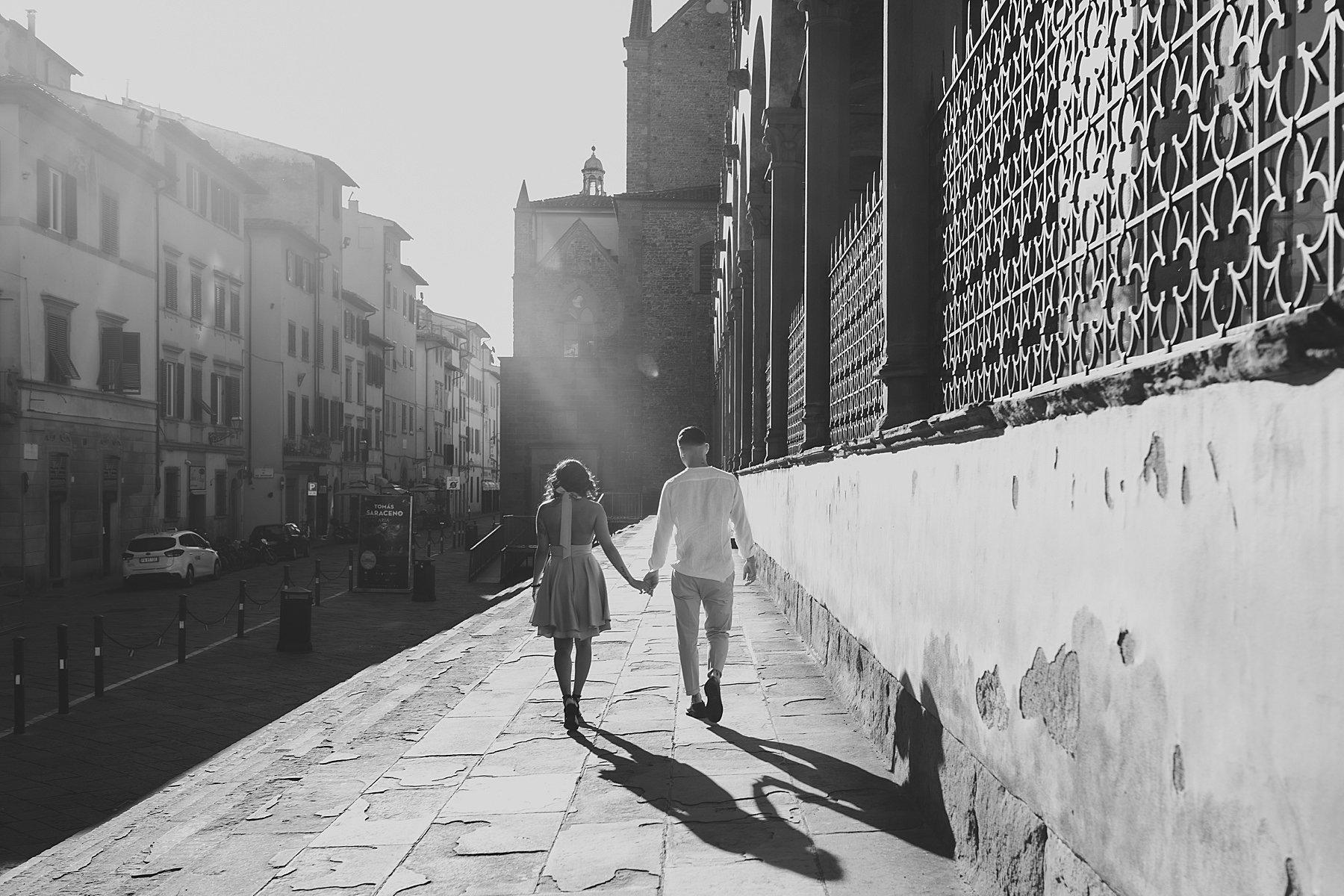 foto di coppia firenze piazza santa croce