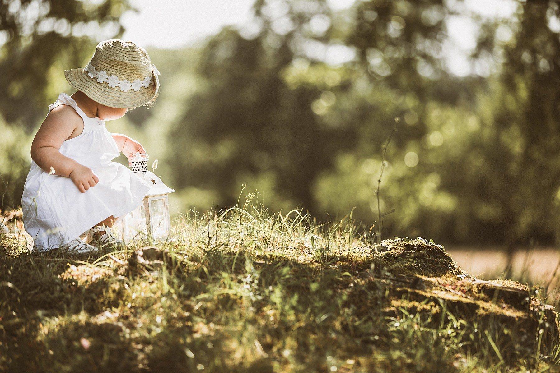 servizio fotografico di famiglia nella natura