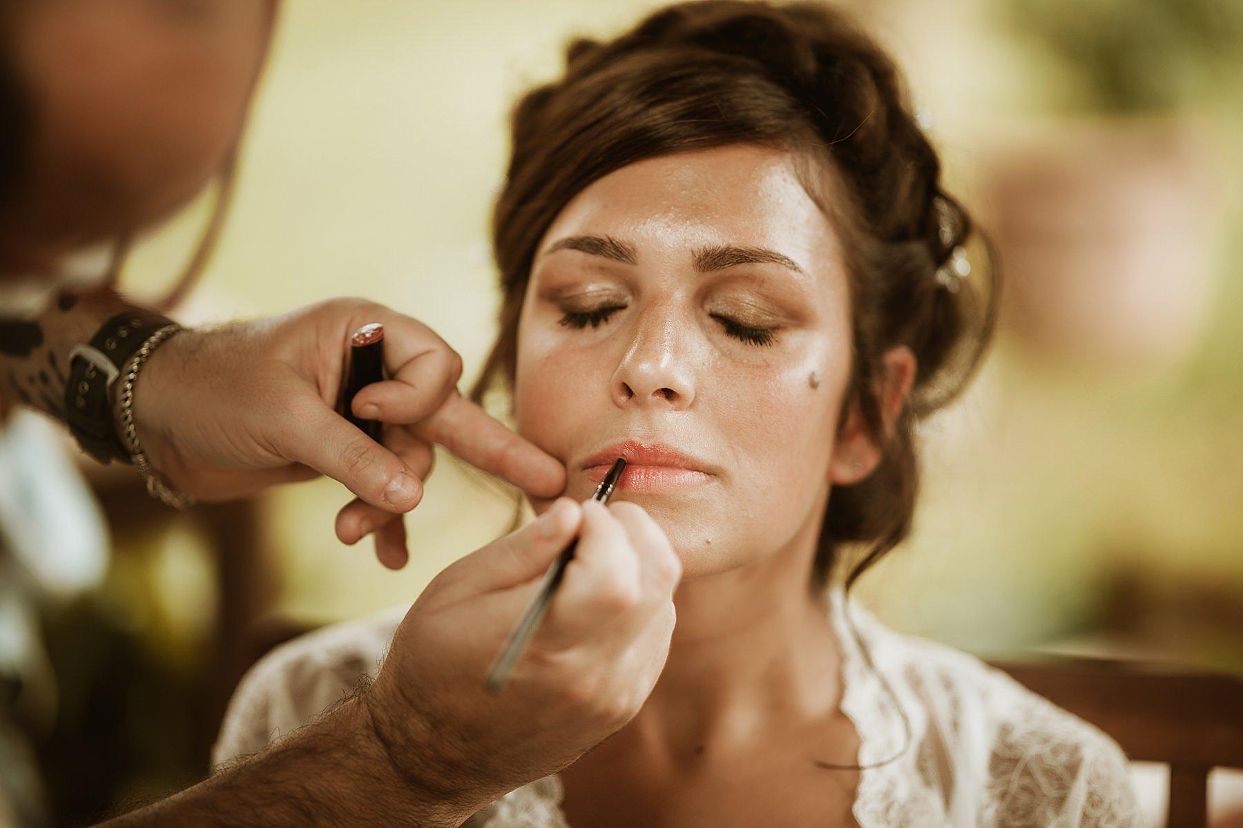 makeup sposa preparazione a casa