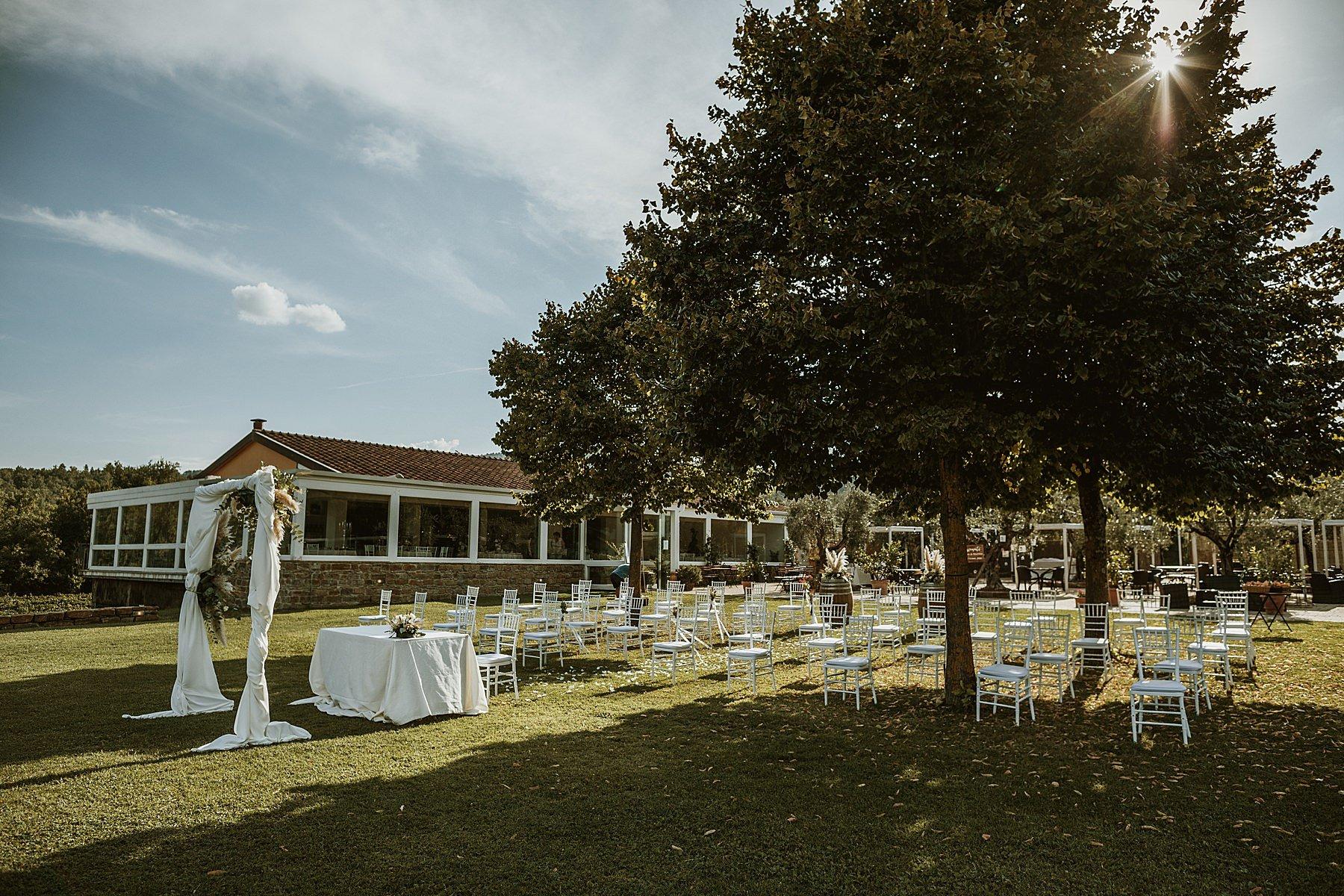 cerimonia civile a relais campiglioni montevarchi