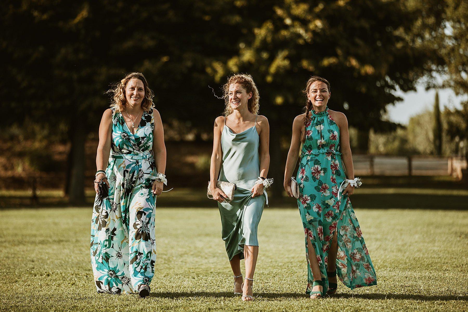 amiche e testimoni della sposa