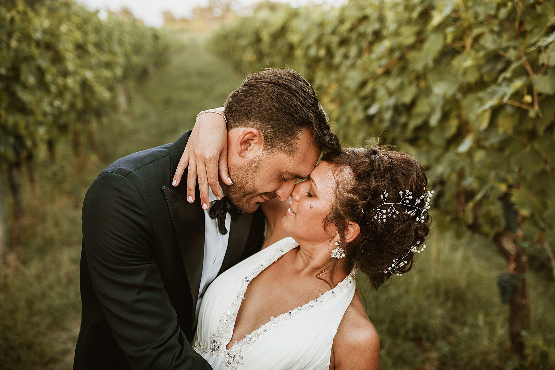 shooting sposi vigneto toscano montevarchi